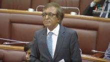 La séance suspendue deux fois lors du discours d'Anil Gayan