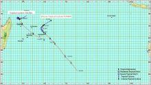 Météo : un avertissement de cyclone de classe 1 en vigueur à Maurice