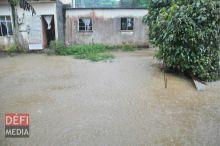 Météo : un avis de fortes averses émis ; 141 mm de pluie à Nouvelle-Découverte