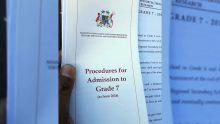 Education : l'exercice d'inscription en Grade 7 est lancé