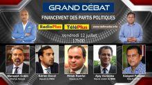 [A ne pas manquer] Financement des partis politiques : Grand Débat sur Radio Plus ce vendredi après-midi