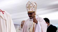 Messe de départ de Mgr Ernest qui sera en poste bientôt à Rome
