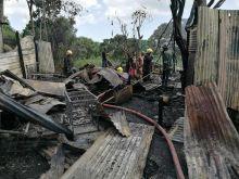 Résidence Barkly : 4 maisons ravagées par les flammes