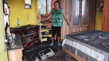 Incendie dans une maison à Sainte-Croix