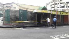Incendie à Port-Louis : un magasin complètement ravagé, trois autres touchés par les flammes