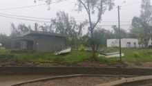 Rodrigues : Le cyclone tropical intense Joaninha passe actuellement à son point le plus rapproché