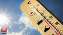 Météo : 3 à 4 degrés Celsius supérieurs à la moyenne