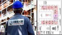 Fuite d'eau au Parlement : l'hémicycle ne figure pas sur les plans d'Ireko