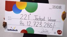 Loto : il rate de numéro et rafle le jackpot de Rs 12 millions