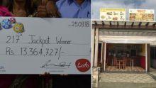 Loto : un restaurateur et un retraité remportent chacun Rs 13, 3 M