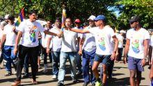 JIOI : dernier parcours pour la flamme des Jeux des îles