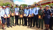 JIOI : les Casernes centrales récompensent les policiers ayant brillé aux Jeux des îles
