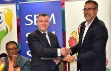 Jeux des îles 2019 : la SBM contribue Rs 25 millions