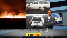 Le JT – Incendies dans le nord, une épaisse fumée provoque un accident qui fait 3 blessés