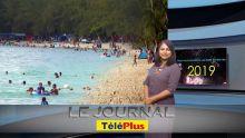Le JT - 1er janvier : de nombreux Mauriciens à la mer malgré le temps maussade