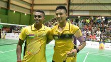JIOI - Badminton : l'équipe masculine mauricienne remporte son troisième match d'affilée
