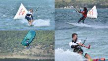 Compétition de kitesurf au Morne : Découvrez le diaporama