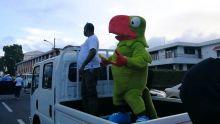 JIOI: la mascotte Krouink descend dans la rue
