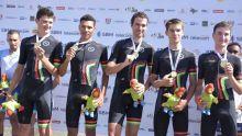 JIOI- Cyclisme : Maurice remporte le contre-la-montre par équipes - «C'était plus dur !», confie Gregory Lagane