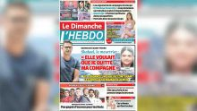 Voici la Une de Le Dimanche / L'Hebdo