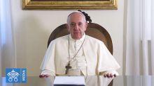 Voyage du pape François : le souverain pontife adresse un message vidéo aux Mauriciens