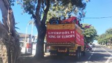 Défilé de l'Official Liverpool Supporters Club de Maurice
