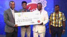 Loto : 10 habitants de Sainte-Croix remportent Rs 35,2 millions