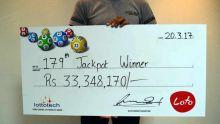 Loterie nationale : un jeune célibataire empoche Rs 33 millions