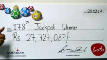Loto : le gagnant du jackpot de Rs 27, 7 M «partagera son argent avec sa famille» et souhaite aider des jeunes