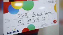 Loto : un chauffeur de Quatre-Bornes remporte Rs 39,3 millions