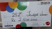 Loto : un habitant du sud remporte Rs 2,5 millions et compte rénover sa maison