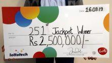 Loto : un habitant de Moka remporte Rs 2,5 millions