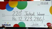 Loto : un jeune père de famille remporte Rs 12,7 millions