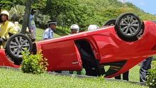 Port-Louis : deux blessés dans une collision entre deux voitures