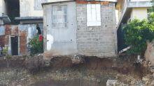 Port-Louis : une famille évacuée d'urgence de leur maison qui menaçait de s'effondrer