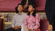 JIOI - Volley-ball : le président malgache, Andry Rajoelina et son épouse, présents dans les tribunes