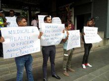 Shift system : manifestation des médecins généralistes des hôpitaux