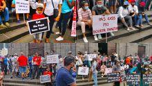 [En images] MK : manif des employés dans la capitale ce samedi