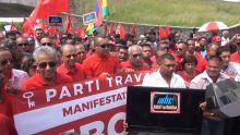 Manifestation du PTr devant la MBC : Navin Ramgoolam réfléchit à « une éventuelle privatisation de la MBC »