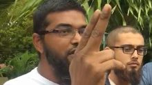 Plaine-Verte : un manifestant dénonce un «fauteur de troubles» qui a mimé un pistolet avec ses doigts devant deux policiers