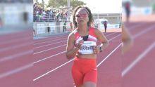JIOI - Athlétisme : la Mauricienne, Prisca Manikion, rafle l'or dans l'épreuve du 5 000 m marche