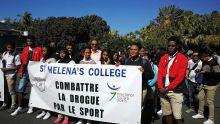 Combattre la drogue par le sport : Les étudiants du collège St-Helena se mobilisent