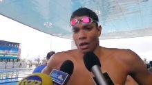 JIOI-Natation : le Mauricien Mathieu Marquet remporte la médaille de bronze
