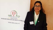 Dossier Chagos : une ex-Senior Magistrate mauricienne participe à une conférence au Portugal