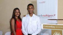 MCB Rodrigues Scholarship 2019 : Jeaneen Momus et Jonaël Jolicoeur récompensés