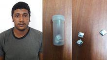 Baie-du-Tombeau : un mécanicien arrêté avec de la drogue synthétique