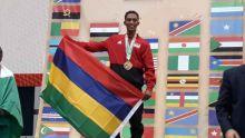 Jeux africains de la jeunesse : le Mauricien Madanamootoo décroche trois médailles d'or