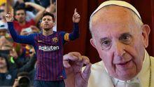 Ce Pape François qui aime la lettre M, M comme Maurice ou Messi