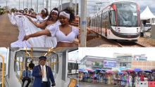 [En images] Bel entrain pour voir le Metro Express