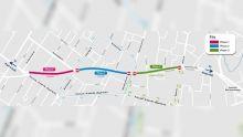 Metro Express : la rue Vandermeersch partiellement fermée pour une durée de sept semaines